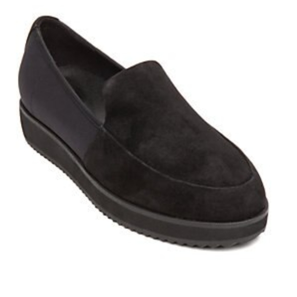 Eileen Fisher Dell Women Round Toe Suede Loafers